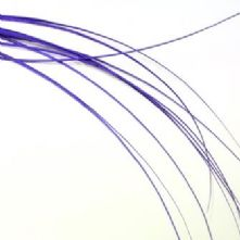 Deep Purple Quill Feather